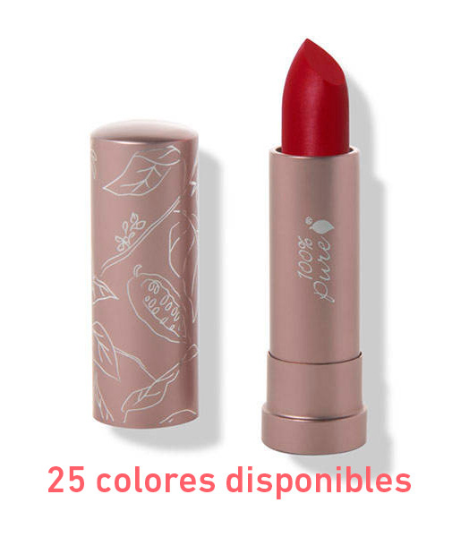 Cocoa-butter-matte-lipstick-45g-25tonos-100-Pure
