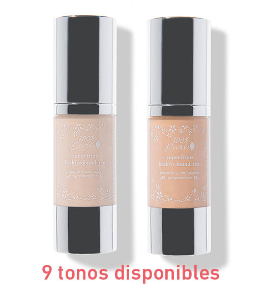 Fruit-pigmented-healthy-foundation-30ml-9-Tonos-100-Pure
