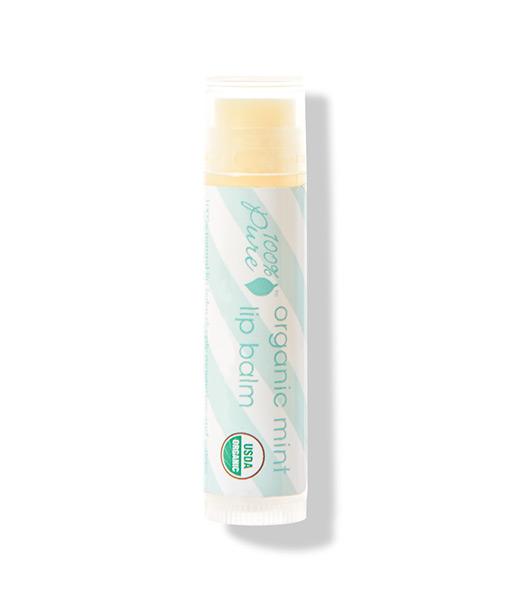 Organic mint lip balm (bálsamo labial de menta) 4,25g 100% Pure