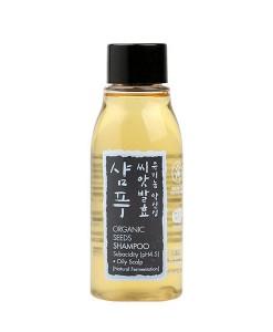 Organic seeds shampoo oil scalp (champú cuero graso) viaje 60ml Whamisa