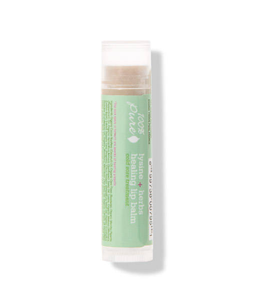 Bálsamo tratamiento de herpes lisina + hierbas 4,25g 100% Pure