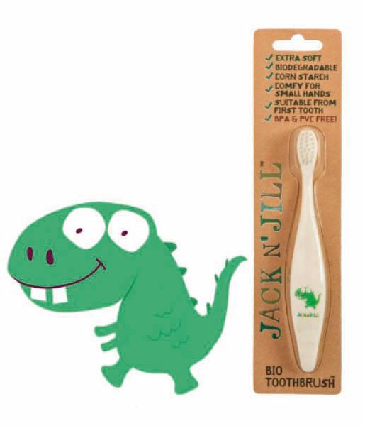 Cepillo de dientes bio dino Jack N'Jill
