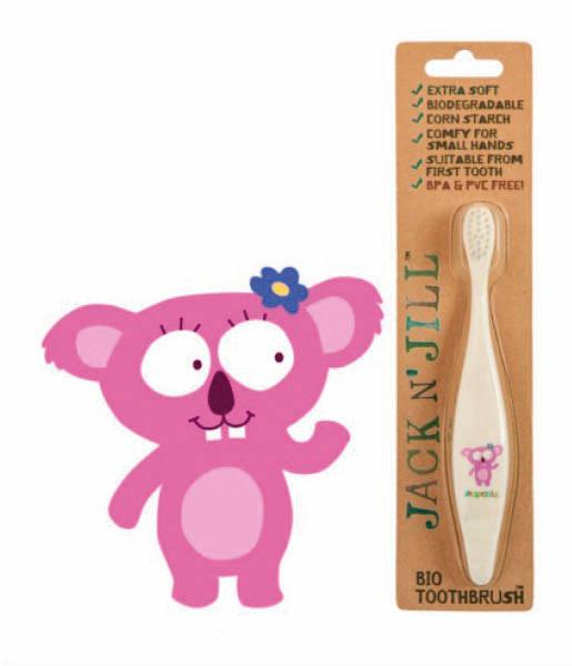 Cepillo de dientes bio koala Jack N'Jill