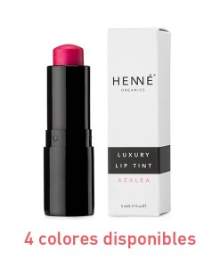 Luxury lip tint 5ml 4 colores Henné Organics