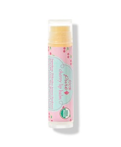 Organic cherry lip balm (Bálsamo labial de cereza) 4,25gr 100% Pure