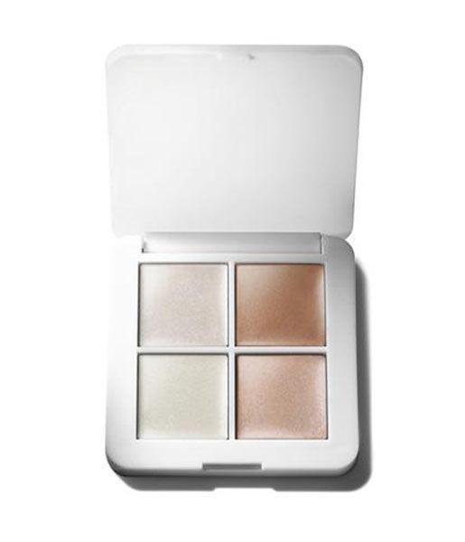 Paleta de iluminadores Luminizer X Quad 4.8g RMS Beauty