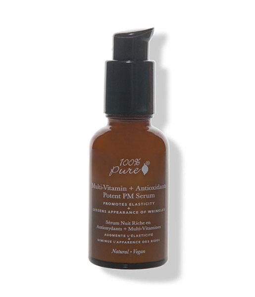 Sérum de noche multi-vitamin + antiox 30ml 100% Pure