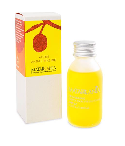 Aceite hidratante corporal antri-estrías 100% bio 100ml Matarrania