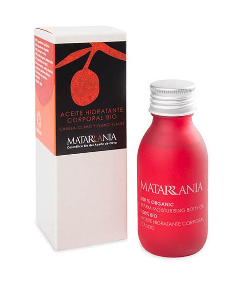 Aceite hidratante corporal canela, clavo e ylang-ylang 100% bio 100ml