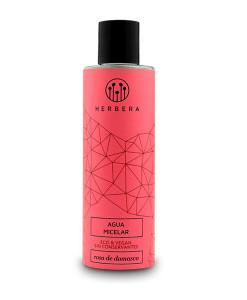 Agua micelar de rosa de damasco 200ml Herbera