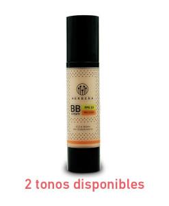 BB Cream eco & vegan con ácido hialurónico 50ml 2 colores Herbera