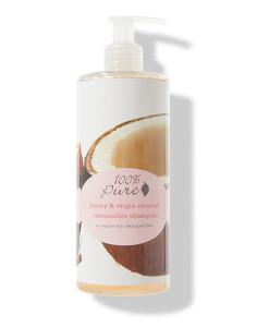 Champú reparador de miel y coco virgen 390ml 100% Pure