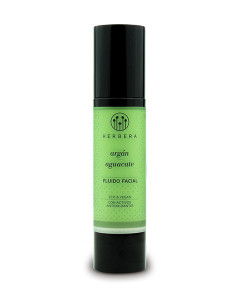 Fluido facial de argán y aguacate para piel seca 50ml Herbera