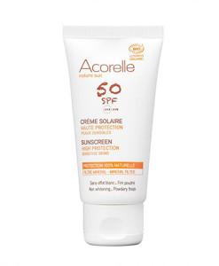 Crema protectora solar facial SPF50 50ml Acorelle