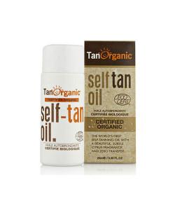 Mini aceite autobronceador 25ml Tan Organics