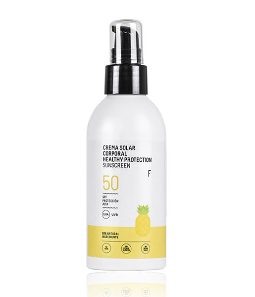Crema solar corporal healthy protection spf 50 150ml Freshly
