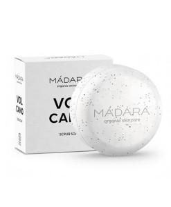 Jabón corporal exfoliante Volcano 90g Madara