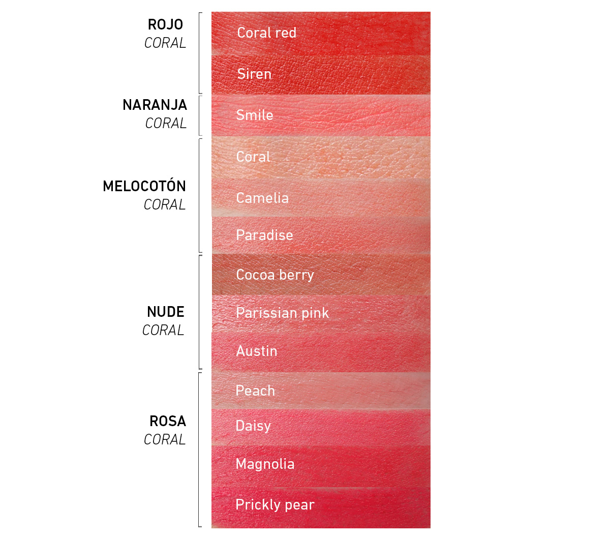 Coral organic lipstick - pintalabios coral orgánico 2