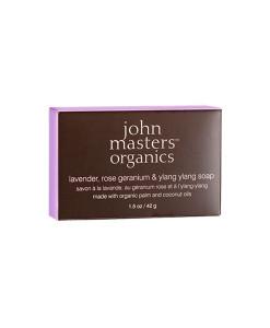 Jabón-rostro-y-cuerpo-de-lavanda-geranio-e-ylang-ylang-mini-42-g-John-Masters