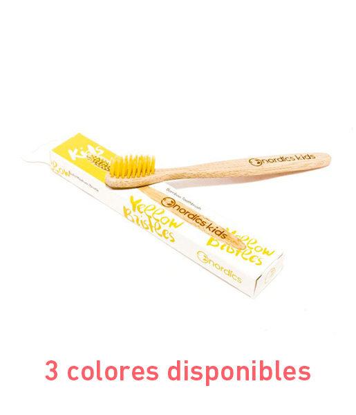 Cepillo-de-dientes-de-bambú-infantil-3-colores-disponibles-Nordics
