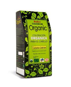 """Tinte-capilar-orgánico-""""castaño-cobrizo""""-100g-Radico"""