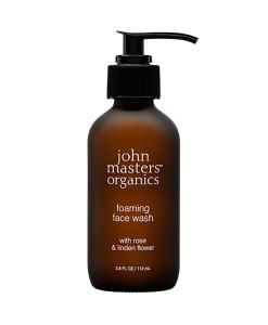 Gel limpiador de rosa para piel normal  seca 112 ml John Masters Organics