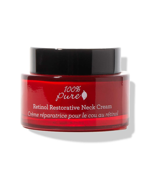 Crema-antiedad-de-retinol-para-el-cuello-44,4ml-100%-Pure
