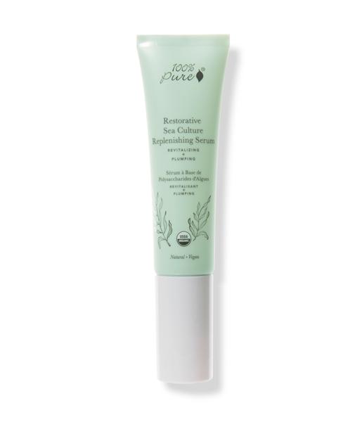 Sérum-hidratante-rellenador-de-activos-marinos-(piel-madura-o-deshidratada)-30ml-100%Pure