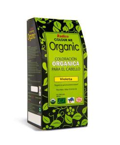 """Tinte-capilar-orgánico-""""violeta""""-100g-Radico"""