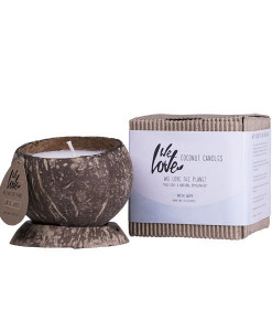 We love vela de soja Natural Artic (fragancia suave) We Love The Planet