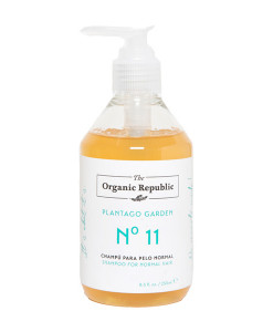 Champú nº 11 plantago garden (cabello normal) 250ml The Organic Republic