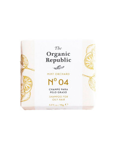 Champú sólido nº 04 mint orchard (cabello graso) 90g The Organic Republic