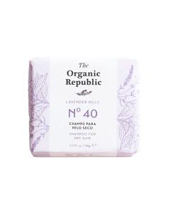 Champú sólido nº 40 lavender hills (cabello seco) 90g The Organic Republic