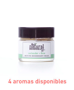 Desodorante en crema active deodorant protección intensa 20g The Natural Deodorant Co.