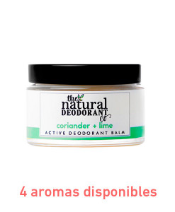 Desodorante en crema active deodorant protección intensa 55g The Natural Deodorant Co.