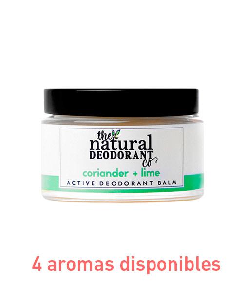 Desodorante en crema active deodorant protección intensa 55g The Natural Deodorant Co.