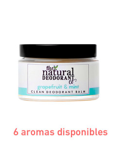 Desodorante en crema clean deodorant protección normal 55g The Natural Deodorant Co