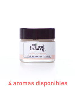 Desodorante gentle deodorant sin bicarbonato 20g The Natural Deodorant Co.