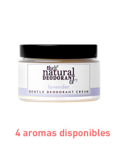 Desodorante gentle deodorant sin bicarbonato 55g The Natural Deodorant Co.