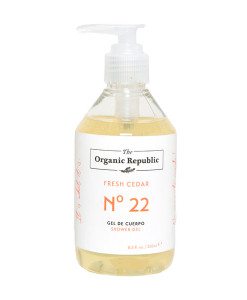 Gel de cuerpo nº 22 fresh cedar 250ml The Organic Republic