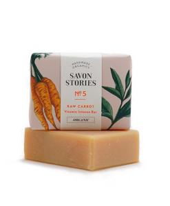 Jabón sólido nº 5 zanahoria (rostro y cuerpo) 100g Savon Stories