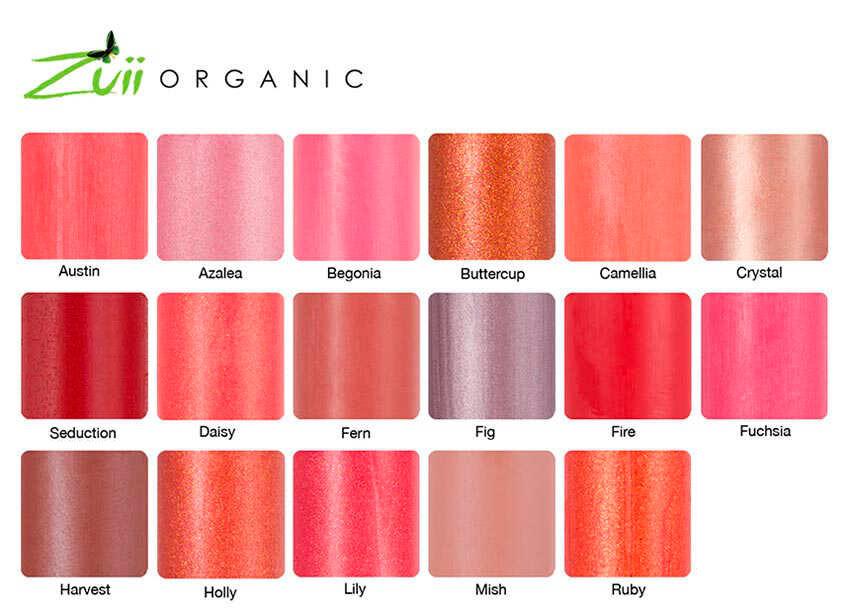 Paleta-de-colores-Pintalabios-Sheer-Zuii-Organic