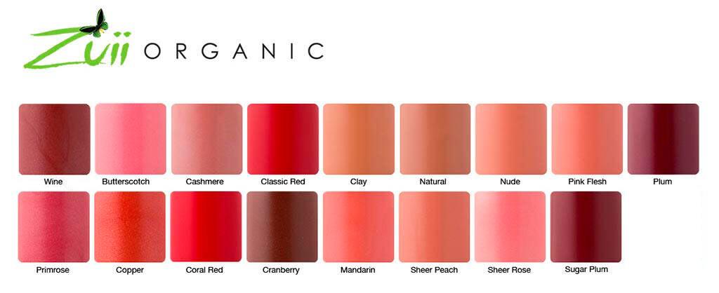 Paleta-de-colores-barras-de-labios-Zuii-Organic