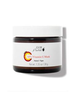 50%-Vitamin-C-Mask-(Mascarilla-iluminadora-antiedad-con-50%-de-vitamina-C)-38g 100% Pure
