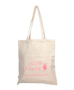 Bolsa-de-algodón-orgánico-100%-Pure