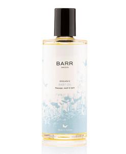 Organic Baby Oil (aceite de masaje y baño para bebé) 100ml BARR Sweden