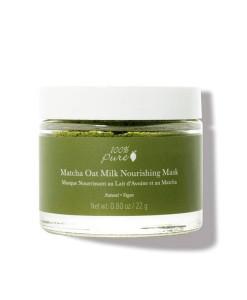 Matcha-oat-milk-nourishing-mask-(mascarilla-nutritiva-de-té-matcha)-22g-100%-Pure