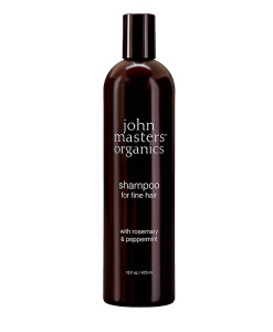 Champú para cabello fino de romero y menta 473ml John Masters Organics