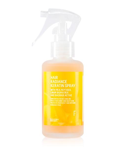 Hair radiance keratin spray (acondicionador de queratina sin aclarado) 100ml Freshly