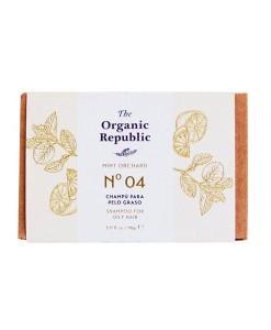 Champú-sólido-nº-04-mint-orchard-(cabello-graso)-90gThe-Organic-Republic